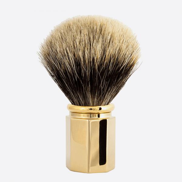Shaving Brush Octagonal European Grey...