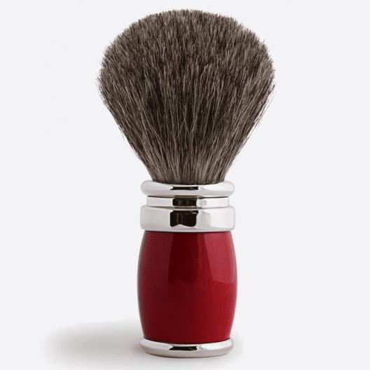 Brocha de afeitar Joris Gris Ruso Laca y Paladio - 2 colores