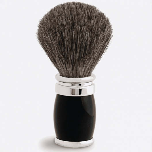 Joris Shaving Brush Russian Grey Lacquer and Palladium - 4 colours