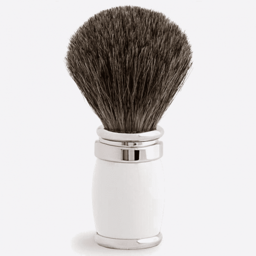 Brocha de afeitar Joris Gris Ruso Laca y Paladio - 4 colores