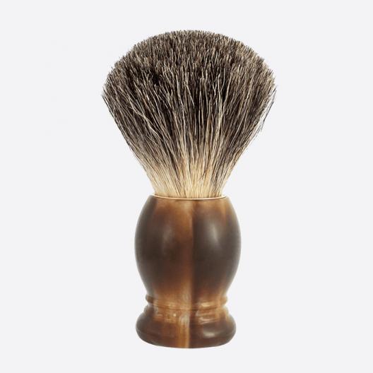 Original Rasierpinsel China Grau - 2 Farben