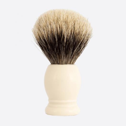 Original Rasierpinsel Europäischer Grau - 3 Farben