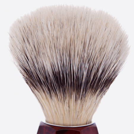 """High Mountain White"" fibre faceted brush - 2 colours thumb-1"