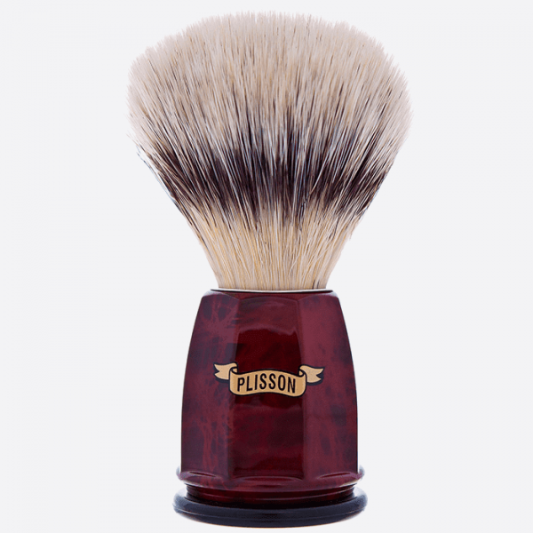 """""""High Mountain White"""" fibre faceted brush - 2 colours"""