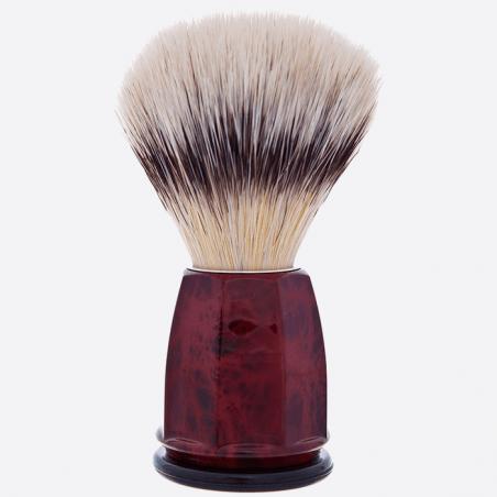 """High Mountain White"" fibre faceted brush - 2 colours thumb-2"
