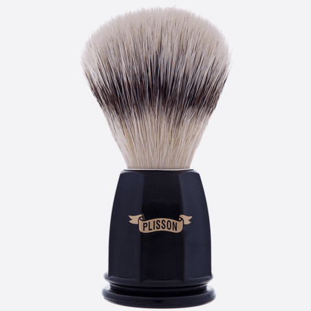 """High Mountain White"" fibre faceted brush - 2 colours thumb-0"
