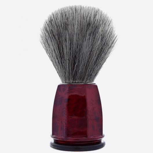 Blaireau facette fibre «PurGris » - 2 coloris