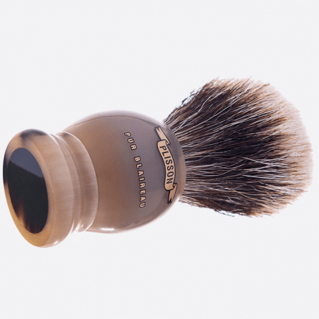 Brocha de afeitar en Horn real thumb-0