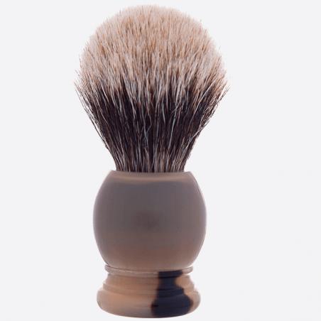 Rasierpinsel aus echtem Horn thumb-1