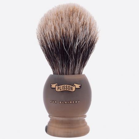 Brocha de afeitar en Horn real thumb-3