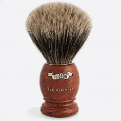 Brocha de afeitar madera de brezo