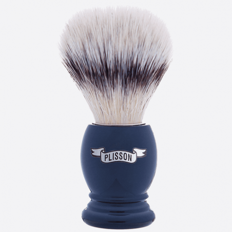 "Essential Shaving Brush - 8 colours, ""High Mountain White"" Fibre thumb-0"