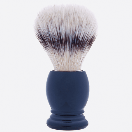"Essential Shaving Brush - 8 colours, ""High Mountain White"" Fibre thumb-1"