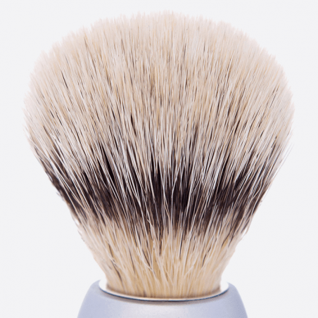 "Essential Shaving Brush - 8 colours, ""High Mountain White"" Fibre thumb-2"