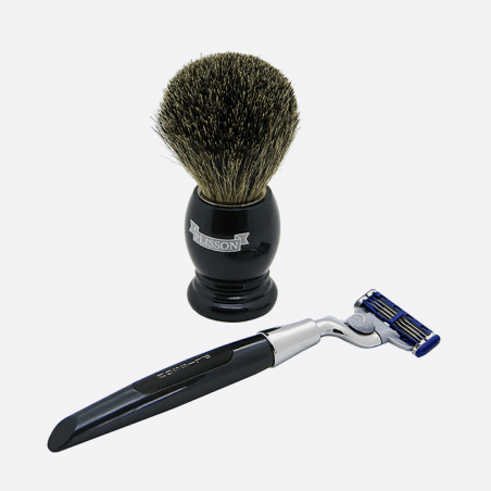 Essential 3-piece shaving set - 2 colours thumb-0