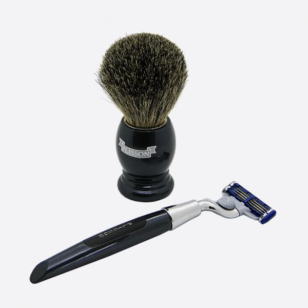Essential 3-piece shaving set - 2...