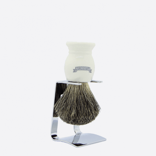 Essential Shaving brush on its stand - 5 colours