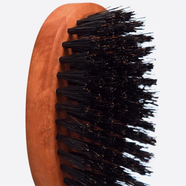Brosse pour la barbe en poirier