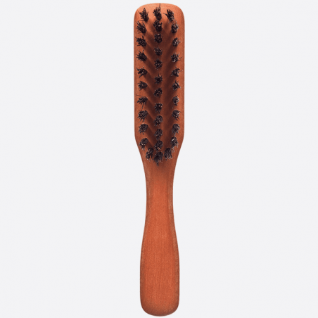 BEARD BRUSH WITH PLEATED HANDLE thumb-0
