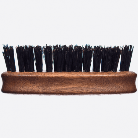 Walnut wood and wild boar bristles beard brush thumb-2
