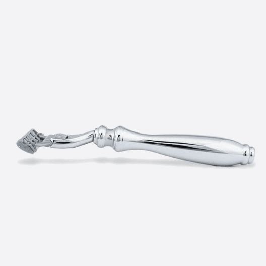 Chrome razor - 3 blade Plisson head