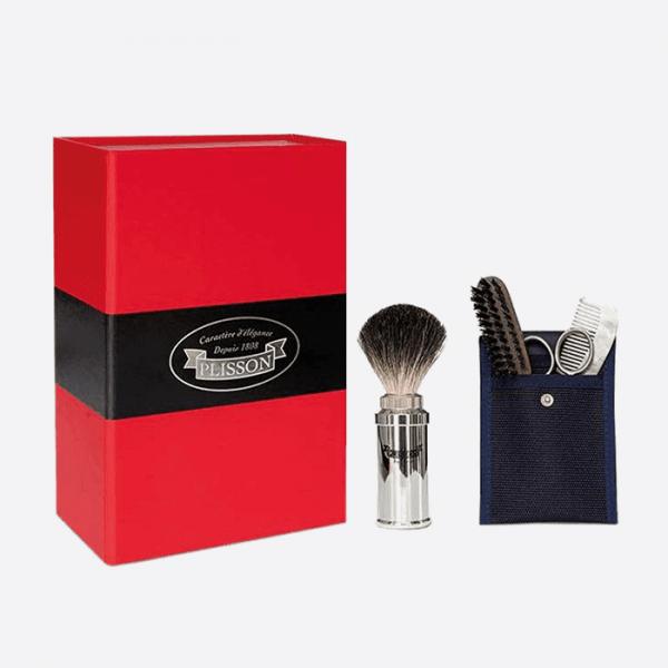 Travel shaving gift set