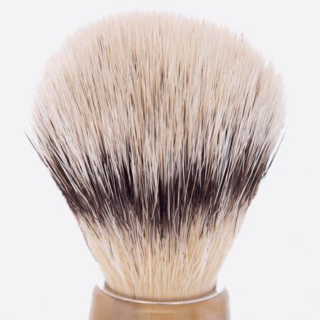 Rasierpinsel blondem Horn & Stand thumb-0