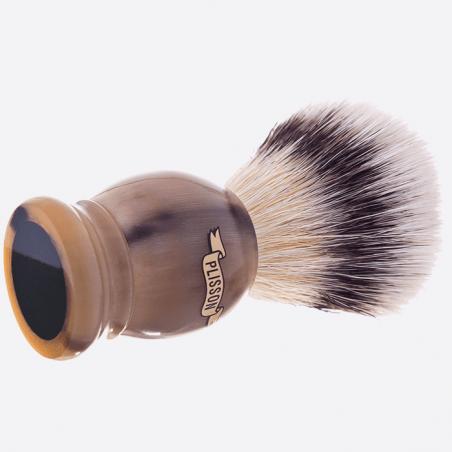 Brocha de afeitar cuerno auténtico thumb-0