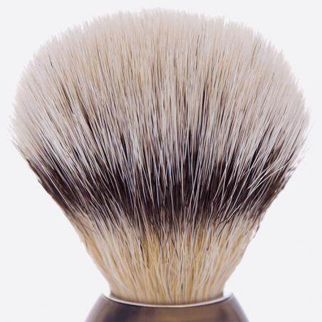 Blaireau fibre - ligne corne véritable thumb-1