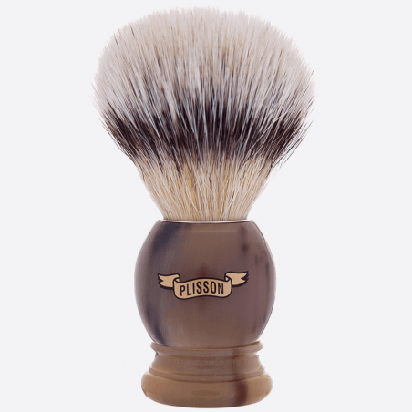 Horn handle & white fiber Plisson thumb-0