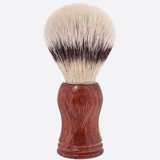 Blaireau fibre - ligne bois de bubinga