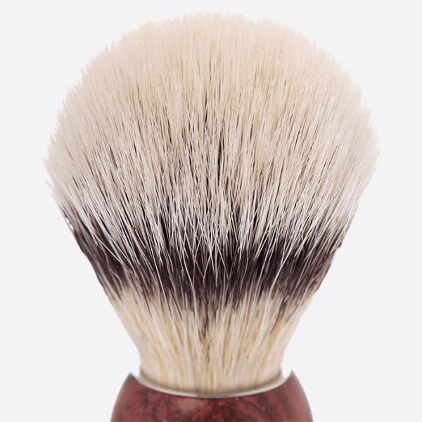 Bubingawood handle & white fiber