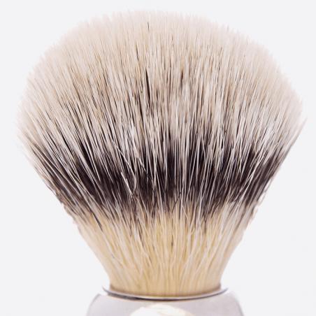 """Blaireau Antique - Fibre façon """"Blanc haute montagne"""" thumb-1"""