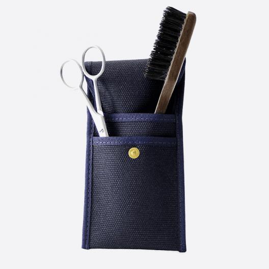 Bart- und Schnurrbart-Set: Bürste und Schere