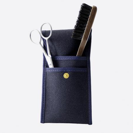 Kit de barba y bigote: cepillo y tijeras thumb-0