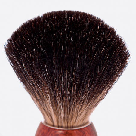 Shavingbrush black badger wood thumb-1