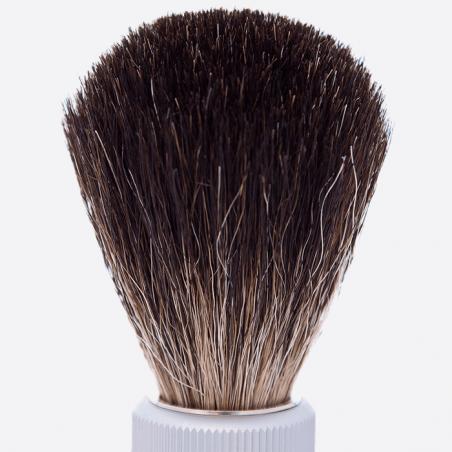 Cepillo de afeitar de viaje negro puro thumb-1