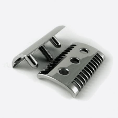 Rasoir de sûreté massif - Finition palladium thumb-1