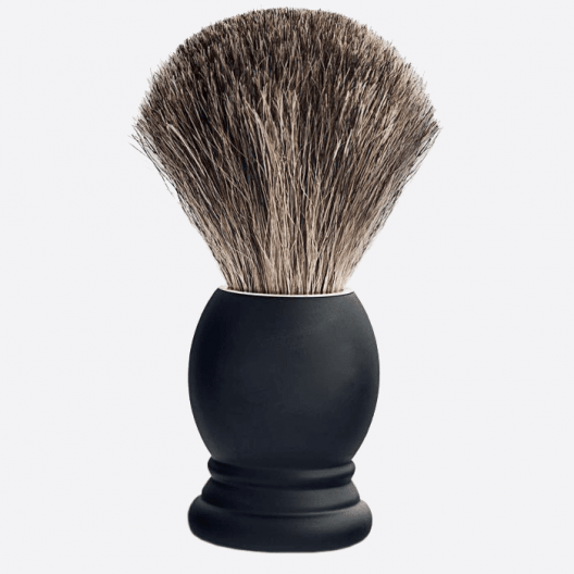 Black pure grey badger & beechwood