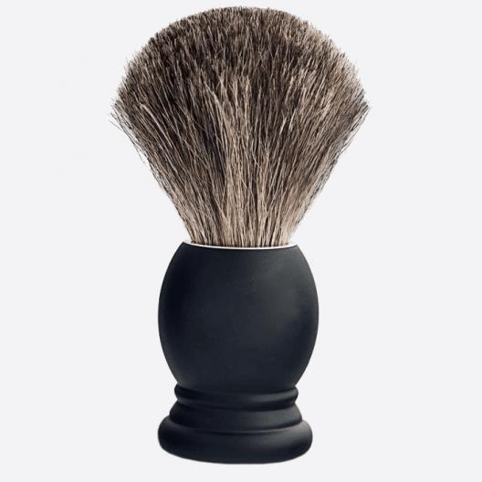 Rasierpinsel schwarzes Buchenholz Grösse 12
