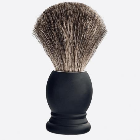 Rasierpinsel schwarzes Buchenholz Grösse 12 thumb-0