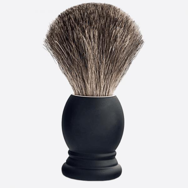 Brocha de afeitar Haya negra