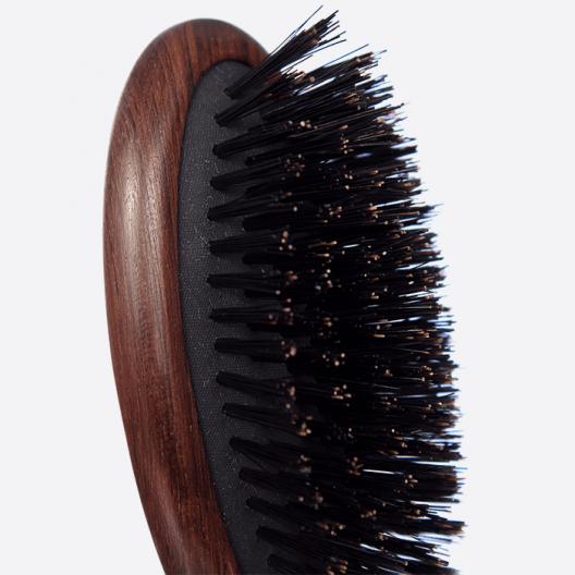Brosse à cheveux pneumatique petit modèle - 100% Sanglier