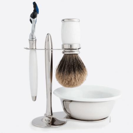 Luxus-Set - Weißer Lack & Palladium thumb-2