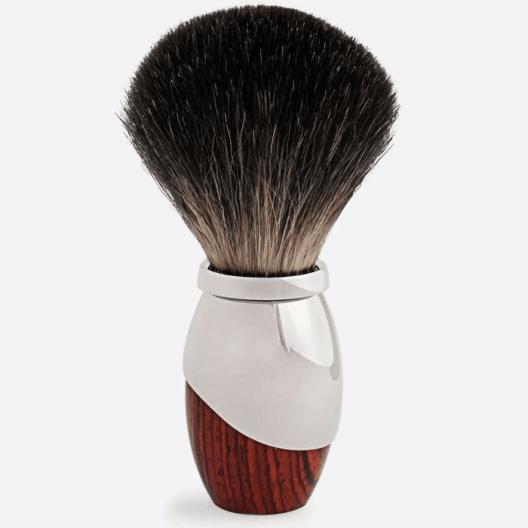 Odyssee Shaving brush - Royal Palissander & Palladium