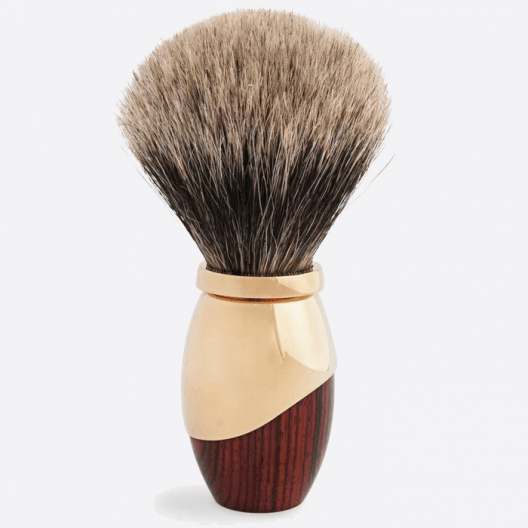 Odyssee Shaving brush - Royal palissander & Gold