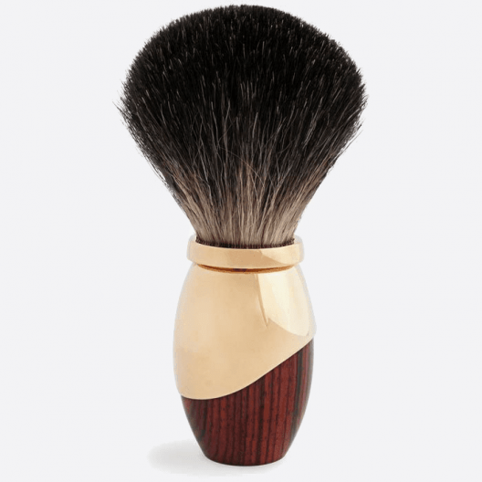 Brocha de afeitar Palisandro & Oro