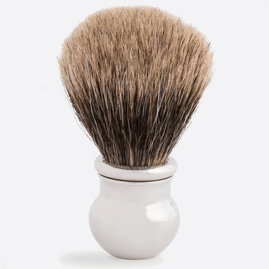Palladium Finish Boule Shaving Brush