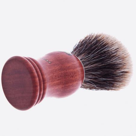 Rasierpinsel Bubingaholz- europäisch grau thumb-1
