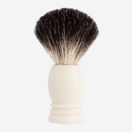 Shaving Brush High Mount Pure Black - 3 colours thumb-0